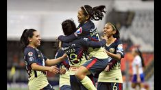 Todos los Goles América Femenil 7-1 Cruz Azul Jornada 4