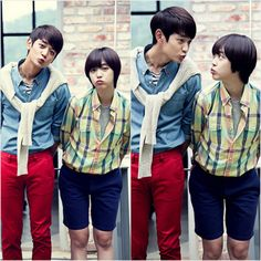 Sulli and Minho share cute couple cuts from the set of 'To The Beautiful You'