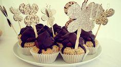 Oreo Cupcakes mit Nougat-Schoko-Tuff (von der Tassenkuchen - Bäckerei)