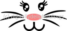 Full Bunny face svg  FREE FOR A LIMITED TIME ONLY