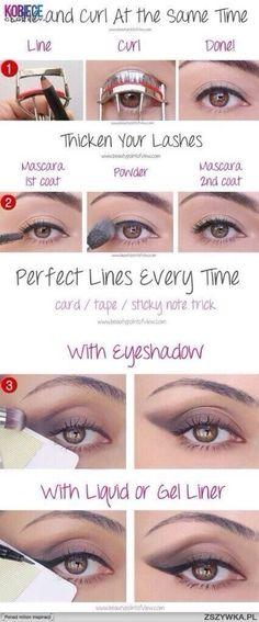 2. #Multi-tasking #Makeup - 45 #Genius #Beauty #Hacks to Try ... → Beauty #White