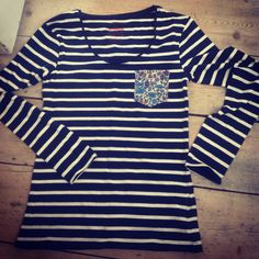 Liberty if London weekend project - patch pocket appliqué