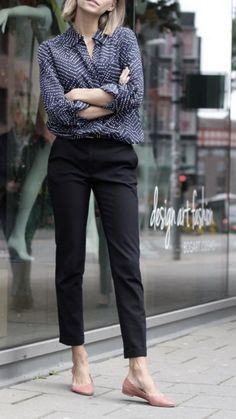 Trendy business casual work outfit for women 34 - Work Outfits Women Comfy Work Outfit, Casual Work Outfits, Work Attire, Work Casual, Smart Casual Women Office, Smart Casual Work Outfit Women, Summer Work Outfits Office, Outfit Office, Chic Outfits