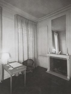 Dream The End Study in Jean-Michel Frank's Apartment, Rue de Verneuil, Paris (ca 1931)