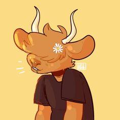 c: drawdroid // i adore bovine characters