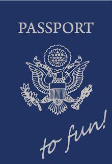 Robyn's Nest!: DIY // passport to fun