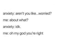 Depression meme - Loki - anxiety aren't you . Quotes Deep Feelings, Mood Quotes, True Quotes, Funny Quotes, Funny Memes, In My Feelings, Feeling Quotes, Depressing Quotes, Hilarious
