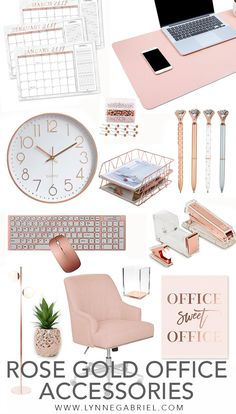 Aktuellste Bilder wohnaccessoires rosa Ideen , Are you obsessed with rose gold? If you're looking for some chic rose gold office and desk accessories, then you found the right pin! Check out this curation of rose gold office and desk accessories. Work Desk Decor, Gold Office Decor, Gold Room Decor, Office Organization At Work, Cute Room Decor, Decorating Office At Work, Work Office Decorations, Pink Gold Office, Office Ideas For Work