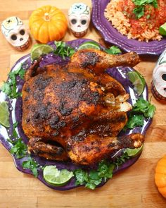 Mexican Spiced Roast chicken – The Foodee Project