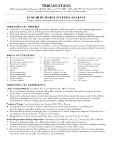 Business Systems Analyst Resume Http Getresumetemplate Info  Business Systems Analyst Resume