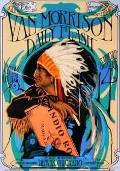 Van Morrison Tin Sign