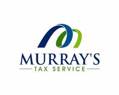 Murray's Tax Service, LLC. at https://www.logoarena.com - logo by anung_design