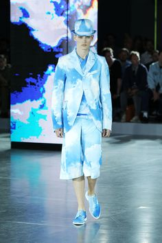 John Galliano SS13 Mens Catwalk Show   F.TAPE   Fashion Directory