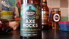 Buxton Brewery Axe Rocks Black And Tan #craftbeer #Beer #realale #ale #beer