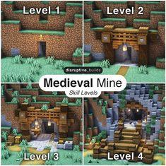 Minecraft Cottage, Cute Minecraft Houses, Minecraft City, Minecraft Plans, Minecraft House Designs, Minecraft Construction, Amazing Minecraft, Minecraft Tutorial, Minecraft Blueprints