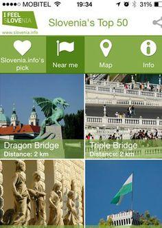 Selectie van de beste vakantie apps in Slovenië..  #BestOfThema