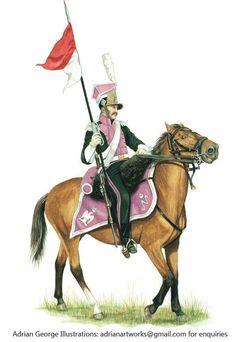 Lanciers de Berg 1812 Empire, German Uniforms, War Of 1812, Z Photo, French Revolution, Napoleonic Wars, Modern Warfare, American Civil War, Military
