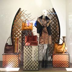 WEBSTA @ vision_display - Fine metal artistry for Longchamp Animal Window…