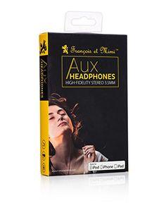 Headphones, Francois et Mimi Elite Apple MFI-Certified 3.5mm In-ear Noise-isolating Earbuds Headphon... #deals