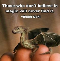 There is magic in the world. It is called Gods mericols. you need to find them for they are everywhere.