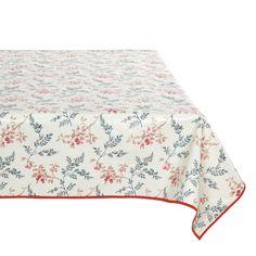 Tischdecke abwischbar, Griotte, 155 x 155 cm