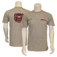 Missouri State University Bears Classic T-Shirt Gray - Small by The Game. $3.98. 100% Cotton. Item is fulfilled by Amazon. Screen Printed Logo. Show your school spirit with this offically licensed NCAA T-Shirt. Save 73% Off!