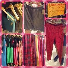 Calzas, vestidos, tops y Polleras a 50p o 2x90p. Santa fe 2683 #avefenix