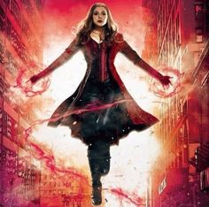 Captain America Civil War : After fighting against Cap in Age of Ultron, Wanda Maximoff is firmly on his side in Captain America: Civil War. Check out the new concept art for Scarlet Witch below! Ms Marvel, Marvel Comics, Wanda Marvel, Marvel Girls, Marvel Heroes, Captain Marvel, Age Of Ultron, Scarlet Witch Marvel, The Avengers