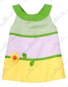 NWT Gymboree Daffodil Garden 3-D Daffodil Stripe Seersucker Top - Size 9 - 1 available - $15 shipped