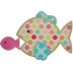 Hungry Fishy Applique