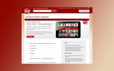 foodnetworkstore.com/checkout/contests/foodnetworkstore – Food Network Store iPad Mini Sweepstakes