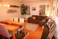 pientä mutta suurta: My former home, living room