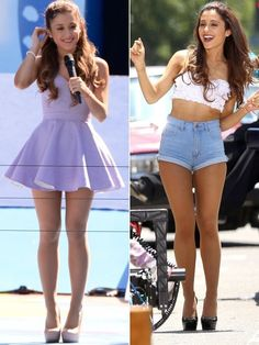 Arianda Grande So Sweet & Sexy. Ariana Grande Body, Adriana Grande, Ariana Grande Outfits, Ariana Grande Pictures, Elegantes Outfit, Hollywood, Forever, Cute Skirts, Sexy Legs