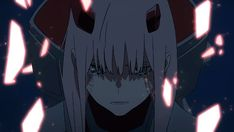 Animated gif about gif in Darling in the frankxx by ~ Naho ~ Kiss Of Death, Angel Of Death, Anime Gifs, Anime Art, Sarada Uchiha, Cute Profile Pictures, Gif Animé, Animated Gif, Zero Two