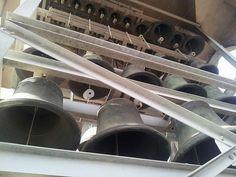 Os 47 sinos do carrilhão do Santuário Nossa Senhora do Sagrado Coração, Vila Formosa Acervo: Paróquia