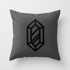 #Zelda Rupee Pillow by Lockhart Design ($20)