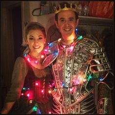 Merry Christmas from Laura Osnes and Santino Fontana