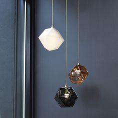 Gabriel Scott | Welles Double-Blown Glass #luminaire #design #deco
