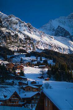 Jungfrau, Swiss Alps: View from Wengen Wengen Switzerland, Visit Prague, Picture Places, Visit Germany, Zermatt, Swiss Alps, Slipper Socks, Central Europe, Travel Europe