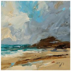 Louise's intensely atmospheric canvasses relate to the English Landscape tradition, invigorated by her immediate emotional responses to the natural world.
