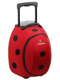 ladybug wheelie bag