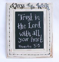 Verse of the Week Chalkboard.