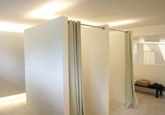 Sherylleysner   Interior Architecture & Project Management   Retail   Nen Xavier   Fitting rooms   Concrete floor  