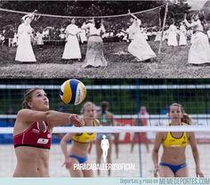 744583 - La evolución del voleibol de playa femenino