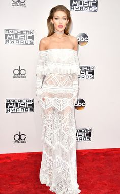 Gigi Hadid: 2016 AMAs Red Carpet Arrivals - November 20, 2016