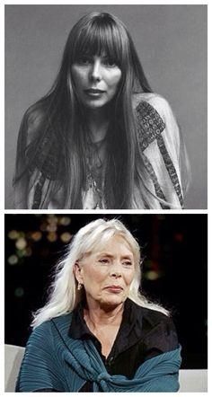 Joni Mitchell, a beauty then and a beauty now.
