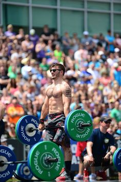 Mat Fraser Crossfit Games; North East Regional