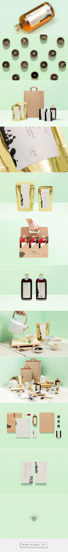 Tesis Tea by Anagrama (Mexico) #packaging