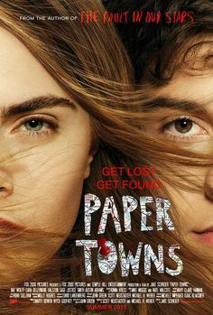 Paper Towns and Teen Angst Best Movies List, Movies To Watch Free, Movie List, Good Movies, Teen Movies, Netflix Movies, 2015 Movies, Paper Towns Film, John Green Books