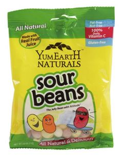 Yumearth Sour Jelly Beans, 2.5-Ounce (Pack of 12) - http://goodvibeorganics.com/yumearth-sour-jelly-beans-2-5-ounce-pack-of-12/